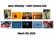 Jason Mulcahy LIPF, Cobh Camera Club