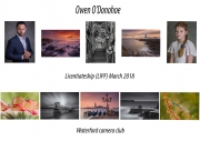 Owen O_Donohoe LIPF, Waterford camera club