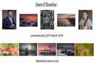 Owen O_Donohoe LIPF, Waterford camera club