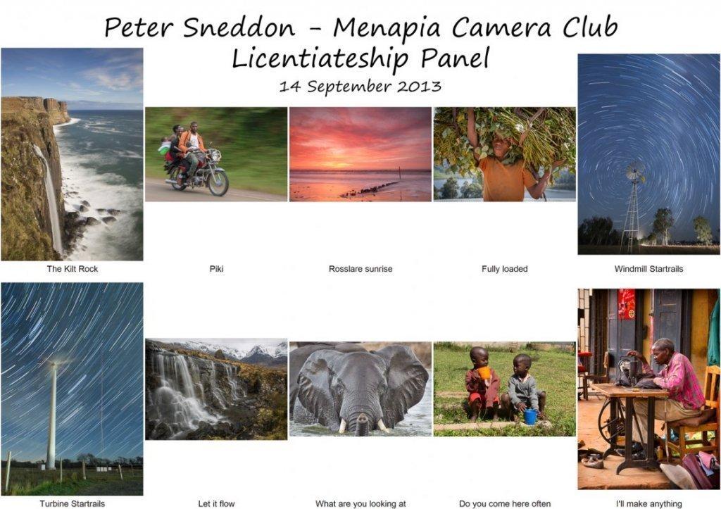 Peter Sneddon LIPF