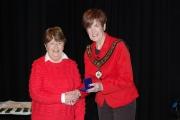 Rita Nolan, LIPF receiving 2nd prize in the NIPA AV All Ireland competition 2017