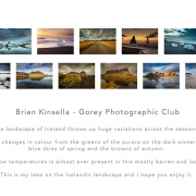 Brian Kinsella AIPF, Gorey Photographic Club
