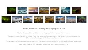 Brian Kinsella AIPF, Gorey Photographic Club