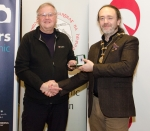 IPF President Michael O'Sullivan pictured with judge Paul Keene