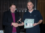 Neil O'Reilly of Tallaght Photographic Society, winner of IPF Nature Photographer of the Year 2016 pictured with chairman of the DSLR Region Martin Devlin