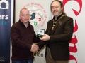 IPF President Michael O'Sullivan pictured with award winner Dominic Reddin