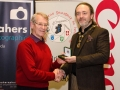 IPF President Michael O'Sullivan pictured with award winner Malcolm McCamley