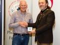 IPF President Michael O'Sullivan pictured with award winner Padraig Molloy