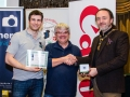 IPF President Michael O'Sullivan pictured with Michael Maher from competition sponsor Mahers Photographic and award winner Patrick Kavanagh