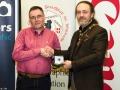 IPF President Michael O'Sullivan pictured with award winner Seamus Mulcahy