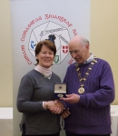 IPF Vice-President Sheamus O'Donoghue pictured with award winner Ita Martin