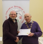 IPF Vice-President Sheamus O'Donoghue pictured with award winner Michael Linehan