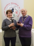 IPF Vice-President Sheamus O'Donoghue pictured with overall winner Ita Martin
