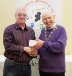 IPF Vice-President Sheamus O'Donoghue pictured with judge Rikki O'Neill