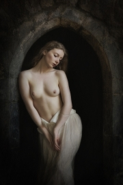 Bill Power - Cork Camera Group - Lady in a Gothic Door - SACC