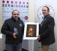 Paul Reidy IPF Photographer of the Year with winning image