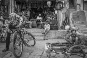 NE Tony Mc Donnell_Dundalk Photographic Society_Bicycle Repairs