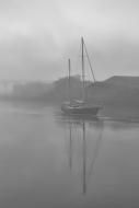 Ship in Mist - Drogheda Ireland