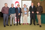 IPF President Michael O'Sullivan and Shane Cowley from Canon Ireland pictured with overall winner Bill Power and judges Rikki O'Neill, Ricardo Busi and Paul Keene