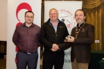 IPF President Michael O'Sullivan and Shane Cowley from Canon Ireland pictured with the judge Paul Keene