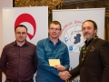 IPF President Michael O'Sullivan and Shane Cowley from Canon Ireland pictured with award winner Niall Whelan