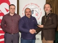 IPF President Michael O'Sullivan and Shane Cowley from Canon Ireland pictured with award winner Paul Reidy