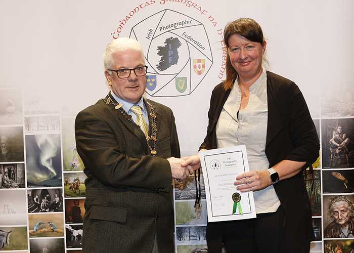 IPF-Vice-President-Liam-Beattie-presenting-Lisa-Fitzgerald-with-her-Licentiate-at-the-Sept-Distinctions-in-Carlow