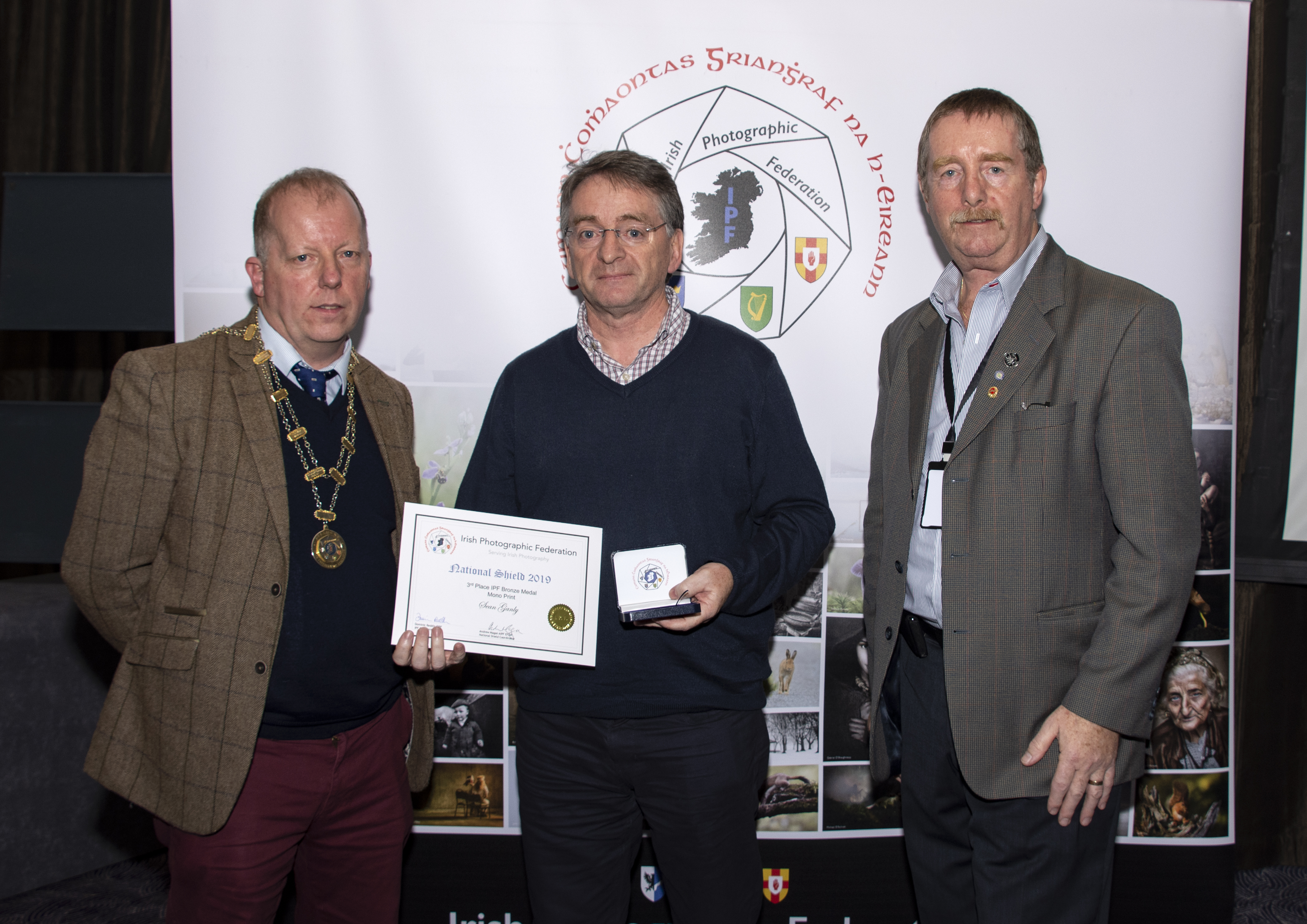 Mono,  IPF Bronze Medal, Plus Certificate, Sean Ganly – Fowler's Hut – Athlone Photography Club