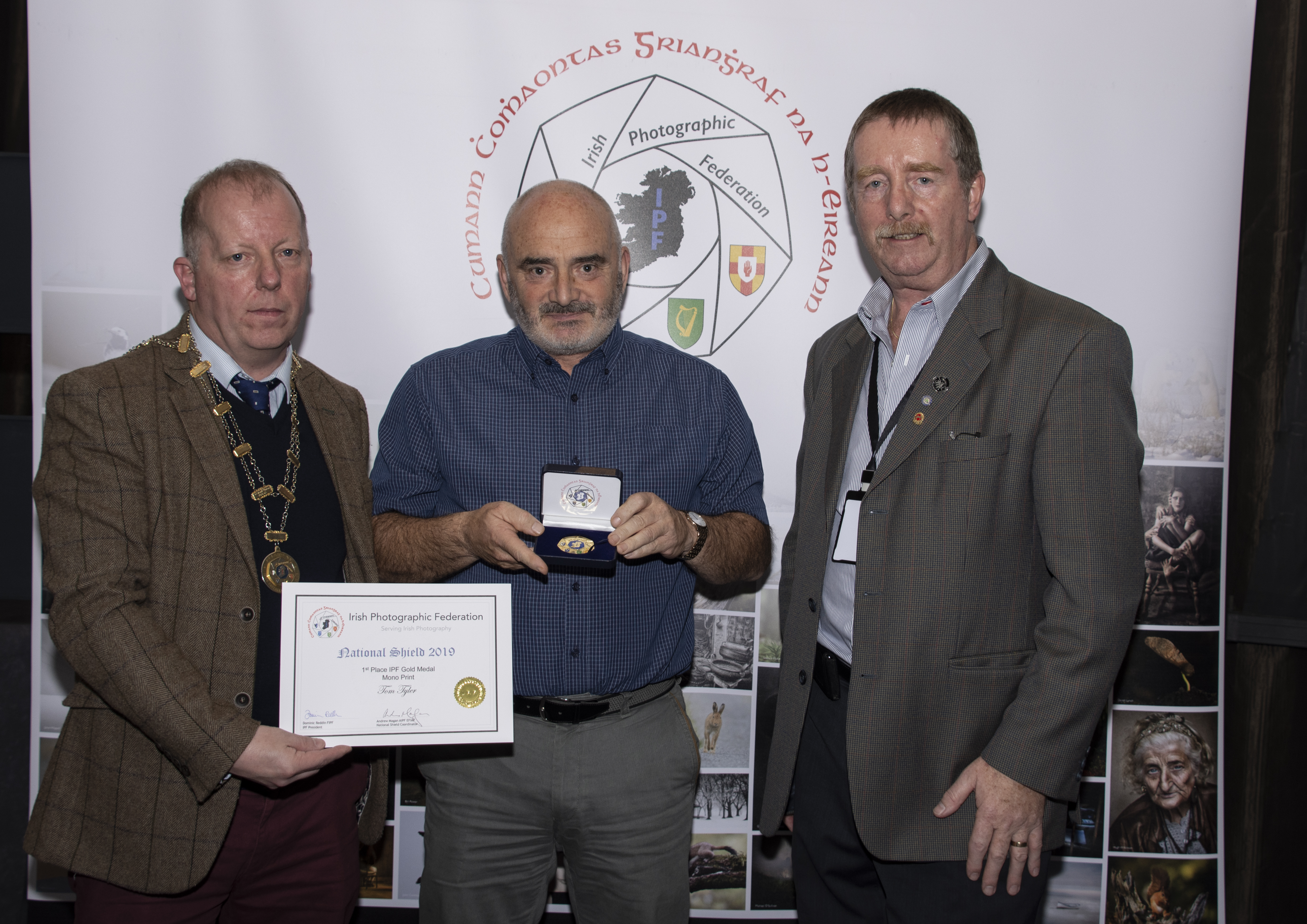 Mono, IPF GOLD Medal Plus Certificate, Tom Tyler – Poker Faces – Waterford Camera Club
