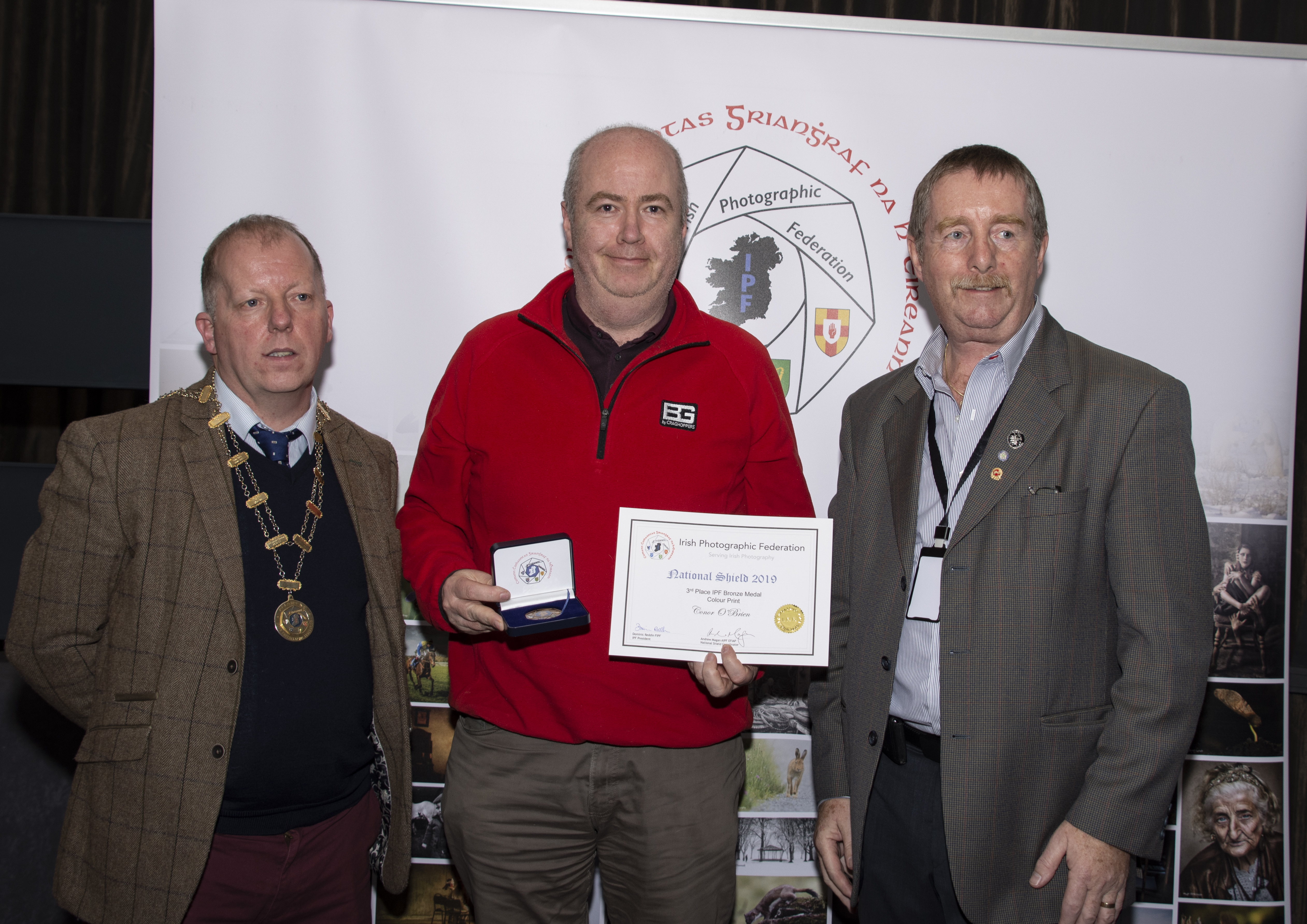 Colour, IPF-Bronze Medal Plus Certificate Conor O'Brien – Birds of a feather – Raheny Camera Club