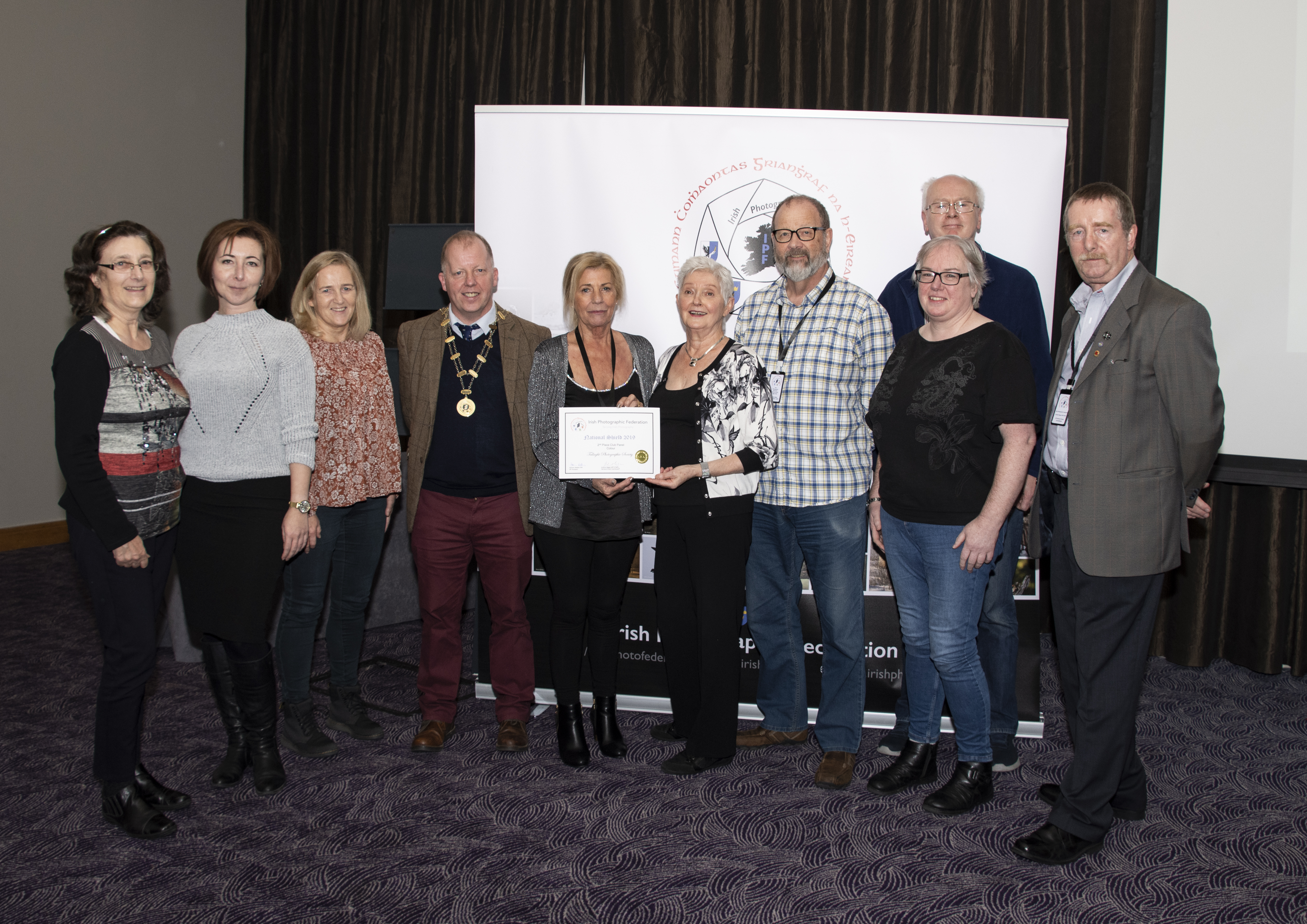 IPF Certificate 2nd Place Colour Club Panel Tallaght Photographic Society