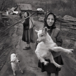 Silver Medal, Judy Boyle, Woman and Goat, Drogheda Photographic Club
