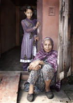 Honourable Mention, Ciaran de Bhal, Lilac Ladies, Dundalk Photographic Society